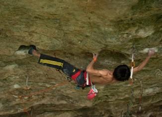 Sachi Amma klettert alle harten Routen in Horai