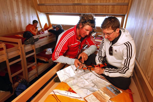 Rekord-Olympiasieger Simon Ammann besteigt seinen ersten Viertausender