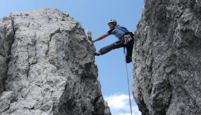 Vorträge des blinden Bergsteigers Andy Holzer