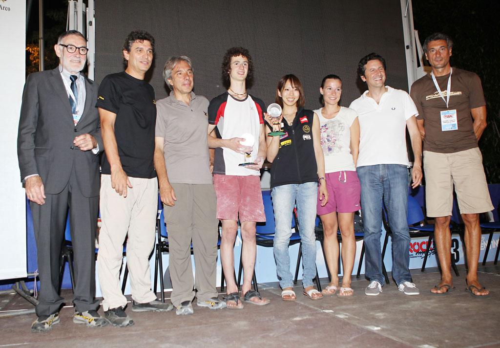 Arco Rock Legends 2010 to Manolo Zanolla