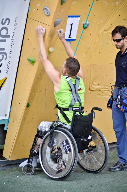 Rock Master Festival 2012: International Paraclimbing Cup