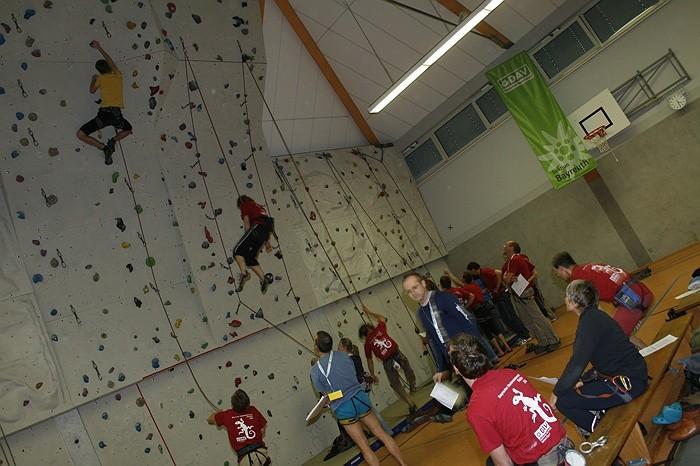 1. Bayreuther Stadtmeisterschaften im Klettern