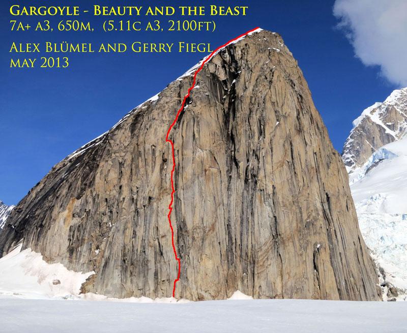 Alex Bluemel und Gerry Fiegl in Alaska erfolgreich