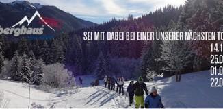 Berghaus on Tour: Kostenlose Schneeschuh-Gaudi in den bayerischen Alpen