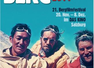 """21. Bergfilmfestival Salzburg """"Abenteuer Berg - Abenteuer Film"""""""