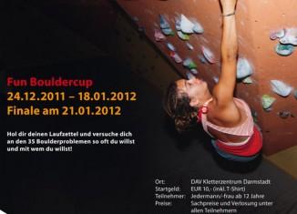 blocage: Fun Boulder Cup in Darmstadt
