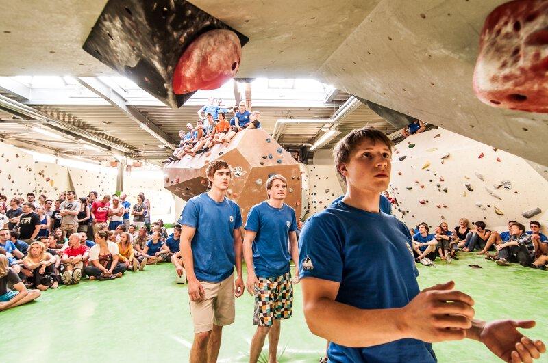 Sophie Arnold und Klemen Kejzar gewinnen den Frankenjura Bouldercup 2013