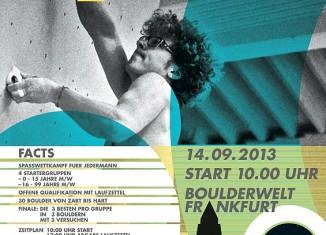 1. Offene Frankfurter Stadtmeisterschaft im Bouldern