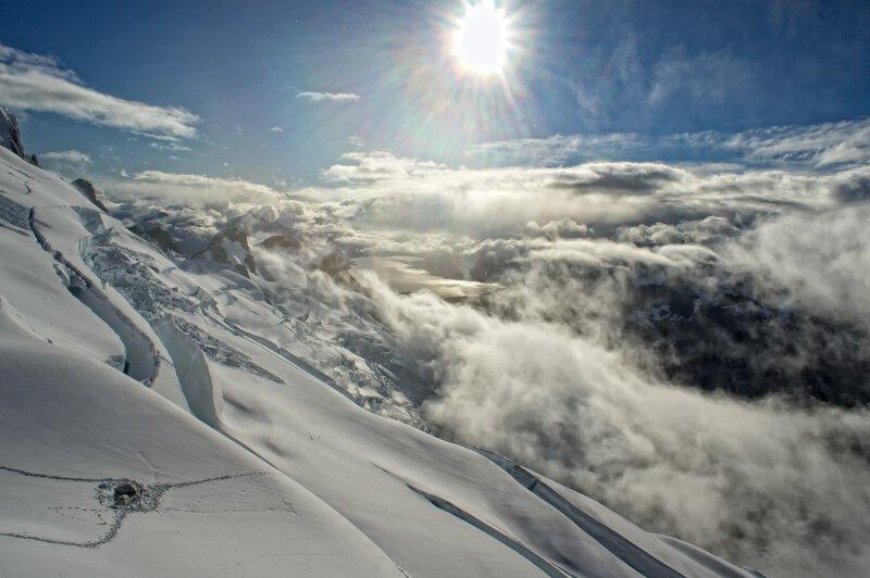 Zweite Besteigung des Monte Buckland auf Feuerland