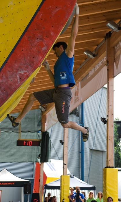 Boulderweltcup Wien: Akiyo Noguchi (JPN) und Kilian Fischhuber (AUT) siegen