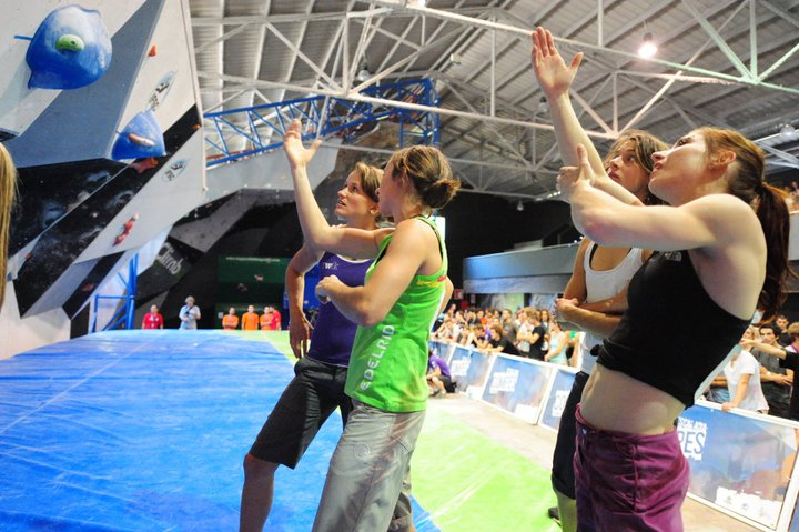 Boulderweltcup 2011 in Barcelona: Juliane Wurm verpasst erneut knapp das Podium