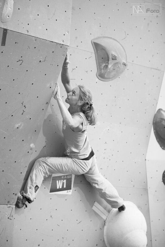 Boulderweltcup 2011 in Eindhoven: Juliane Wurm auf Platz 4