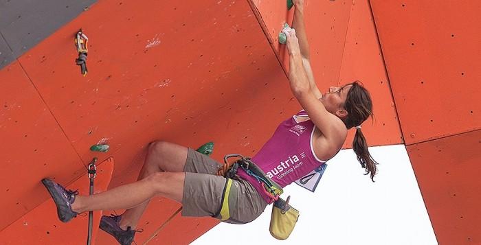 Jakob Schubert feiert Comeback-Sieg beim IFSC Lead Weltcup 2014 in Haiyang