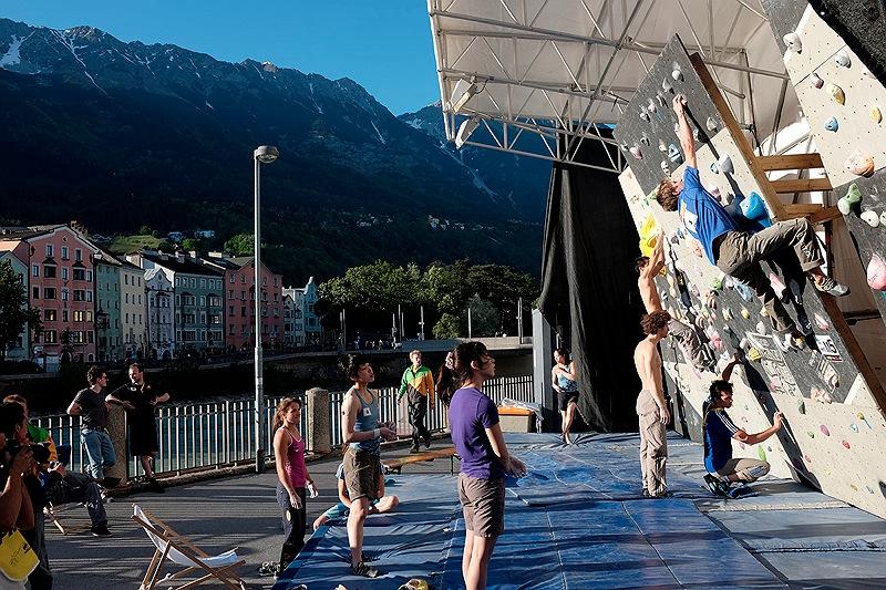 Boulderweltcup 2013 in Innsbruck: Deutsches Team feiert ersten Doppelsieg überhaupt