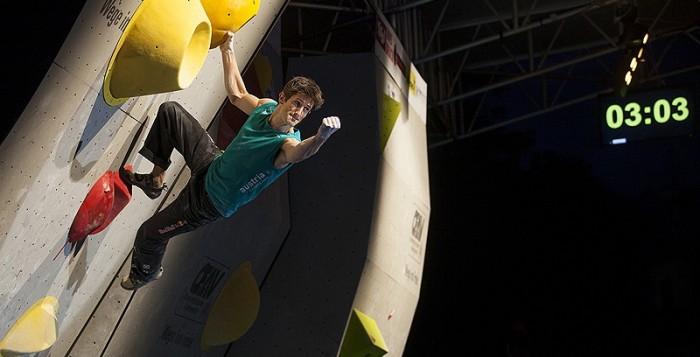 Boulderweltcup 2013 in Innsbruck: Anna Stöhr und Kilian Fischhuber holen Silber und Bronze