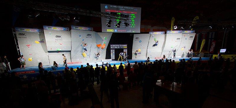 Boulderweltcup 2013 in Kitzbühel: Stöhr und Schubert feiern umjubelte Heimsiege