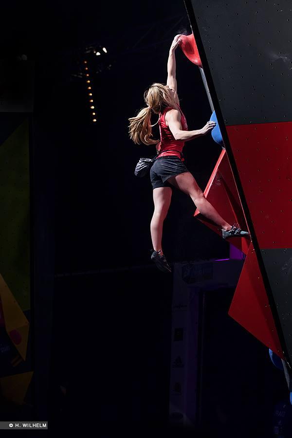 IFSC Boulderweltcup 2014: Gesamtweltcup-Bronze für Anna Stöhr