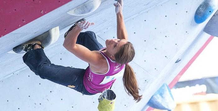 Boulderweltcup 2013 in Vail: Anna Stöhr bleibt siegeshungrig