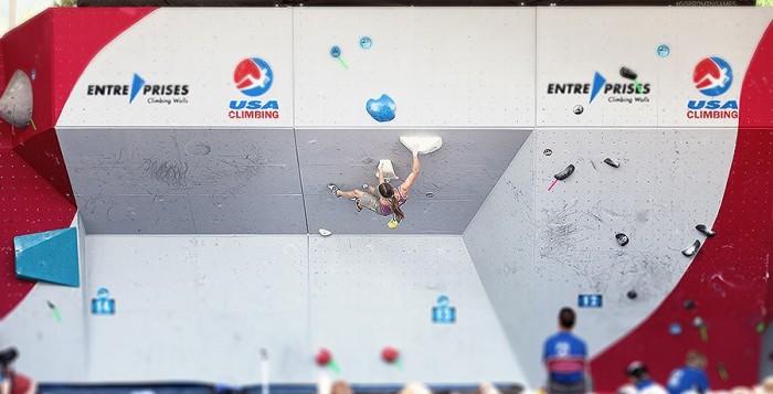 IFSC Boulderweltcup 2014 in Vail: Anna Stöhr zurück auf dem Stockerl