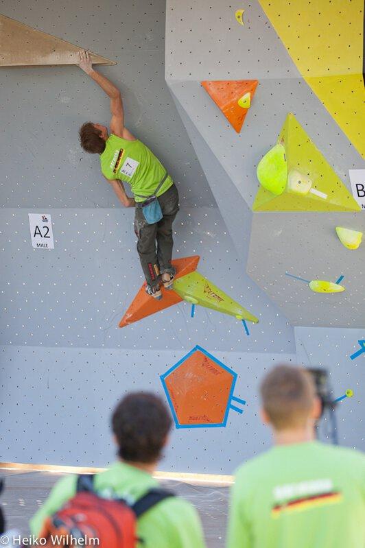 Boulderweltcup Wien 2012: Die deutsche Sicht