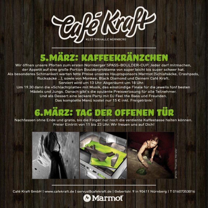 Café Kraft Eröffnung in Nürnberg