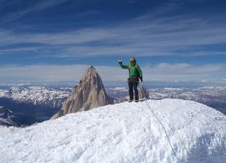 Michi Lerjen gelingt sein vierter Gipfel der Torre Gruppe