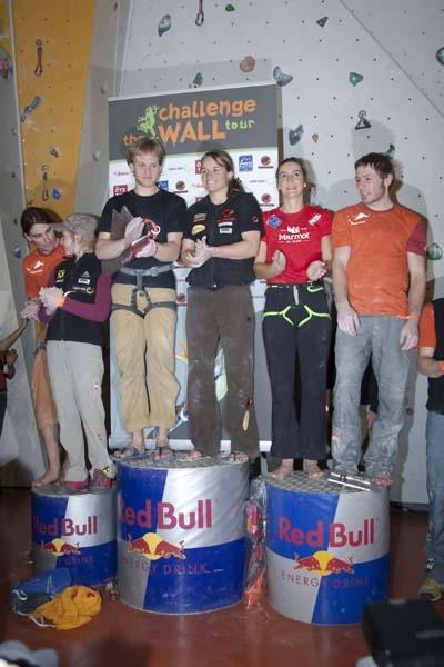 400 Kletterbegeisterte fieberten mit beim Challenge the Wall