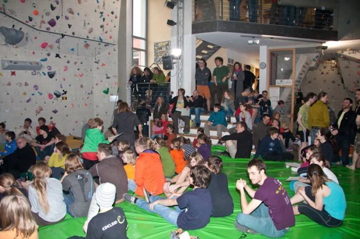 2. offener Coburger Bouldercup: Hochspannung und toller Sport