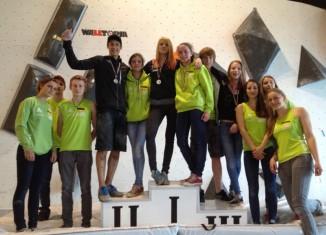 EYC 2013 in Sofia: Medaillenregen für deutsche Nachwuchsboulderer