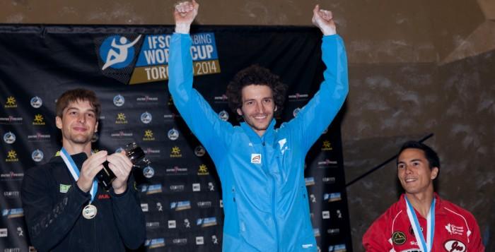 IFSC Boulderweltcup 2014: Jan Hojer holt Platz zwei im vierten Wettkampf