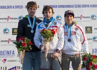 Jan Hojer holt Platz zwei beim zweiten Boulderweltcup der Saison 2014