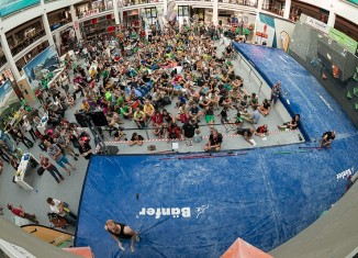 Deutscher Bouldercup 2013 in Friedrichshafen: Spiel