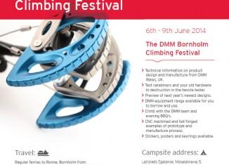 The DMM Bornholm Island Climbing Festival 2014