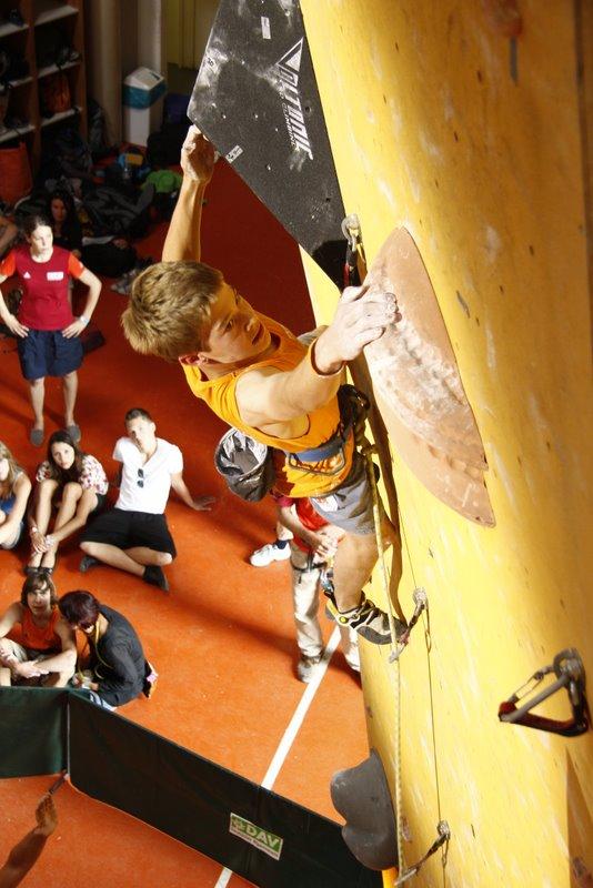 Deutscher Sportklettercup 2011: Erster Sieg für Ines Dull