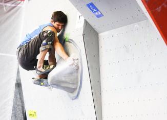 Kletter-EM 2010: Anna Stöhr (AUT) und Cedric Lachat (SUI) siegen im Bouldern