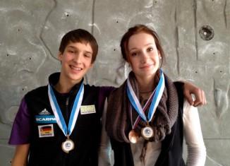 EYC 2011 Finale in Kranj: Edelmetall für Hannah Bähr und Ruben Firnenburg