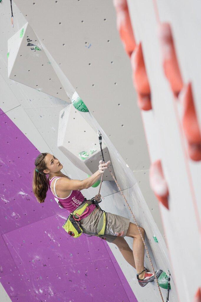 Kletter-WM 2014 in Gijon: Jakob Schubert und Magdalena Röck stehen im WM-Finale