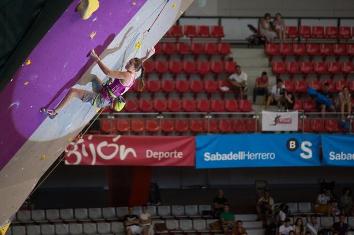 Kletter-WM 2014 in Gijon: Magdalena Röck gewinnt WM-Bronze