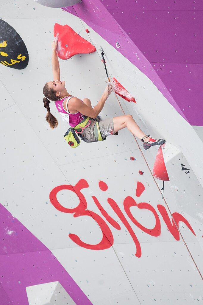 Kletter-WM 2014 in Gijon: Ergebnisse am vierten Tag