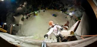 Internationales Eiskletterevent Glace Glisse 2013 im Heutal bei Unken