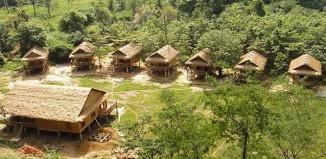 Green Climbers Home in Laos niedergebrannt