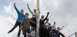 Hanwag Alpine Experience 2014: Erfolgreiche Sternbesteigung der Zugspitze