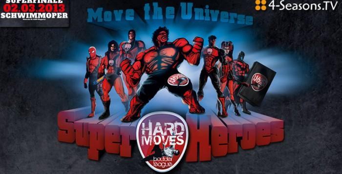 Hard Moves 2013: Europas größter Boulder-Wettkampf live auf 4-Seasons.TV