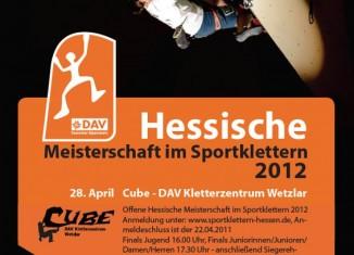 Hessische Meisterschaft im Sportklettern am 28.04.12 in Wetzlar