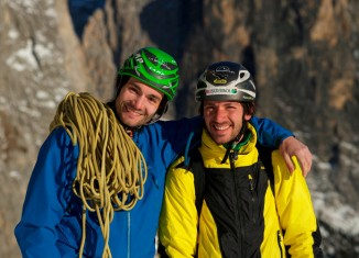 International Mountain Summit 2012: Brüder am Seil
