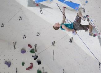 Leadweltcup 2013 in Puurs: Jakob Schubert feiert ersten Saisonsieg im Vorstieg