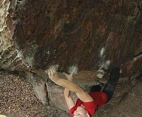 Bouldergebiet Haardt erneut von Sperrung bedroht