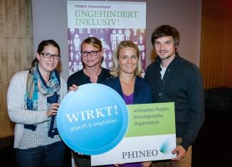 IWDR: Inklusiver Verein aus München als besonders wirkungsvoll ausgezeichnet