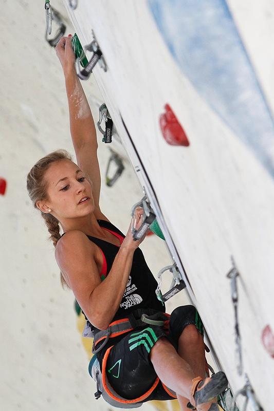 Jugend- und JuniorenWM 2011: Österreichs Nachwuchshoffnungen überzeugen in der Vorstieg-Qualifikation