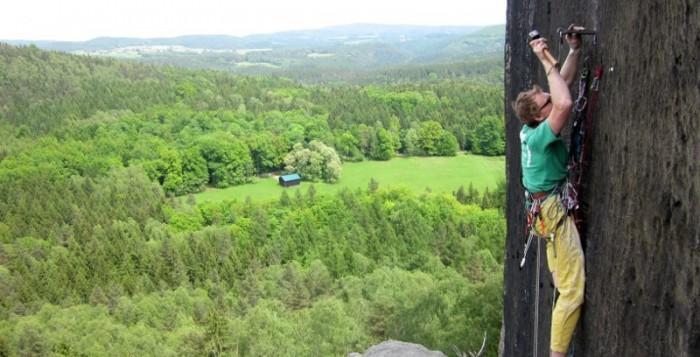 Robert Leistner klettert das Nonplusultra im Elbsandstein